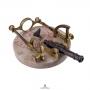 FRENCH 19TH CENTURY NOON DAY GUN 'CANON DE MIDI'